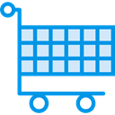 store, Cart, shopping, trolley, Commerce And Shopping, shopping cart, Shop, market DodgerBlue icon