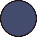 Geometrical, Graphic Tool, Shapes And Symbols, Circle, interface, Oval, graphic design DarkSlateBlue icon