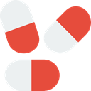 Healthcare And Medical, healthcare, Medication, Antibiotic, medical, Drug, Pill, drugs Tomato icon