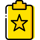 Clipboard, list, Tasks, checking, Verification, Files And Folders Gold icon