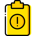Tasks, checking, Verification, Clipboard, list, Files And Folders Gold icon