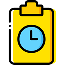 Tasks, checking, Verification, Files And Folders, Clipboard, list Gold icon