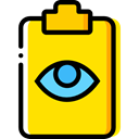 checking, Verification, Files And Folders, Clipboard, list, Tasks Gold icon