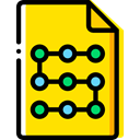 document, File, Archive, interface, files, Files And Folders Gold icon