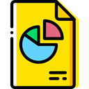 Files And Folders, File, Archive, interface, files, document Gold icon