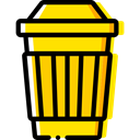 Coffee, food, coffee cup, Food And Restaurant, hot drink, Coffee Shop, Take Away, Paper Cup Gold icon