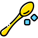 food, Restaurant, spoon, Cutlery, Tools And Utensils, Food And Restaurant Black icon