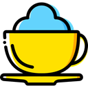 Tea Cup, Food And Restaurant, Chocolate, mug, coffee cup, hot drink, food Icon