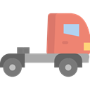 transportation, truck, transport, vehicle, Delivery, Automobile, Delivery Truck, Cargo Truck, Shipping And Delivery Black icon
