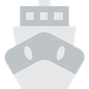 transportation, Boat, transport, ship, Cruise, Yacht, Ships, Shipping And Delivery Silver icon