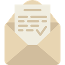 Email, envelope, Multimedia, Message, mail, interface, mails, envelopes, Shipping And Delivery Wheat icon