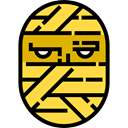 halloween, mummy, horror, Terror, spooky, scary, fear SandyBrown icon