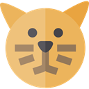 Cat, pet, Animals, Animal Kingdom SandyBrown icon