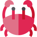 Aquarium, Beach, summer, Crab, Crabs, Summertime, Sea Life, Food And Restaurant, food, Animals Crimson icon