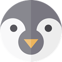 zoo, Animals, Wild Life, Animal Kingdom, Penguin WhiteSmoke icon