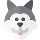 zoo, Animals, wolf, wildlife, Animal Kingdom WhiteSmoke icon