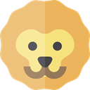 lion, zoo, Animals, Wild Life, Animal Kingdom BurlyWood icon