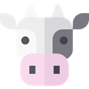 Wild Life, Animal Kingdom, zoo, cow, Animals WhiteSmoke icon