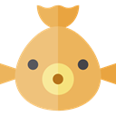 Foods, Meats, Animal, food, fish, Animals, Supermarket, meat, fishes SandyBrown icon