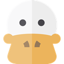 bird, Duck, Animals, Wild Life WhiteSmoke icon