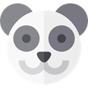 panda, zoo, Animals, Wild Life, Animal Kingdom WhiteSmoke icon