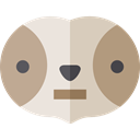 zoo, Animals, sloth, Wild Life, Animal Kingdom LightGray icon