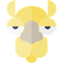wildlife, Animal Kingdom, Camel, zoo, Animals, mammal Khaki icon