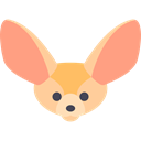zoo, Animals, mammal, Wild Life, Animal Kingdom, Fennec Black icon
