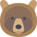 mammal, wildlife, Animal Kingdom, bear, zoo, Animals DimGray icon