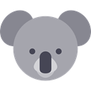 mammal, wildlife, Animal Kingdom, Marsupial, zoo, koala, Animals DarkGray icon
