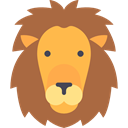 Animal, lion, zoo, Animals, Circus, mammal, wildlife Sienna icon