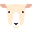 Animal, Sheep, Animals, Farm, Farming, Mammals, Sheeps BlanchedAlmond icon