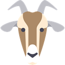 goat, zoo, Animals, Wild Life, Animal Kingdom, Animal Black icon