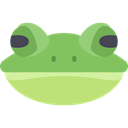 Animal, frog, Animals, wild, wildlife, Amphibian DarkSeaGreen icon