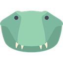 Crocodile, Animals, wild, reptile, wildlife, Animal, zoo LightGreen icon