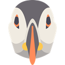 Animals, wild, Deadlock, wildlife, Animal, bird, zoo Beige icon