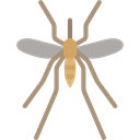 Animal, insect, Animals, mosquito, dangerous, plague, Infestation Black icon