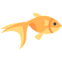 Aquatic, Sea Life, ocean, Animals, Aquarium, goldfish Black icon