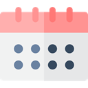 Calendar, time, date, Schedule, Calendars, Time And Date, interface, Administration, Organization WhiteSmoke icon