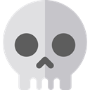 signs, Poisonous, Healthcare And Medical, Dead, skull, halloween, dangerous, medical Gainsboro icon