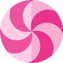 Dessert, sweet, Lollies, Food And Restaurant, food, Candy, sugar LightPink icon
