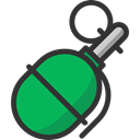 explosive, miscellaneous, burst, Explosion, Military, Grenade, weapons SeaGreen icon