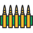 miscellaneous, Bullets, bullet, Ammo, weapons, Munition, Signaling DarkSlateGray icon