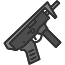 Crime, Arm, shotgun, pistol, miscellaneous, hunter, Gun, weapons DarkSlateGray icon