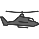 medical, transportation, transport, flight, emergency, Helicopter, Chopper, Aircraft Black icon