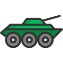 miscellaneous, wars, weapons, Tanks, weapon, canon, war, Tank Black icon
