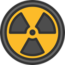 Energy, Alert, power, nuclear, industry, Radioactive, radiation, signs, Signaling DarkSlateGray icon