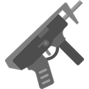 Gun, Crime, Arm, shotgun, pistol, weapons, miscellaneous, hunter Black icon