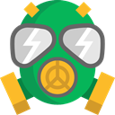 Tools And Utensils, Biological Hazard, Respirator, Gas Mask, Chemical Weapon, miscellaneous SeaGreen icon
