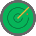 radar, place, Area, technology, electronics, Positional SeaGreen icon
